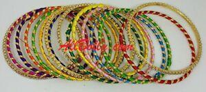 Indian Pakistani Girls Sizes Colourful Bangles Handmade Traditional Jewellery