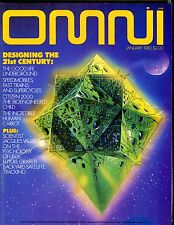 Omni Magazine January 1980 Designing The 21st Century EX No ML 101416jhe