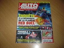 Auto hebdo N°1780 La planète Red Bull.World Ferrari