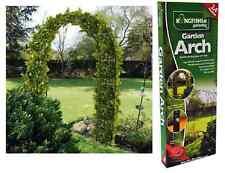 2.4m Metal Garden Arch Strong Tubular Rose Climbing Plants Archway Trellis WARCH