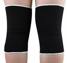 Elasticated Knee Support Compression Sleeve Bandage Brace Wrap Arthritis Pain x2