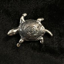 Pin / Brooch Tortoise Vintage Turtle Silver Color