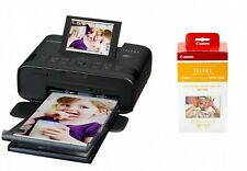 Canon SELPHY CP1300 Compact Photo Printer - Black & RP-108IN Ink/paper pack