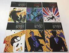 JAMES BOND HAMMERHEAD comics #1 2 3 4 5 6 ~ FULL SET