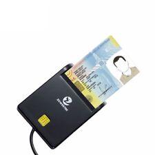 Zoweetek 12026-1 Easy Comm Emv Usb Smart Card Reader Sim /Atm/Ic/Id Card