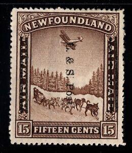 #211 Newfoundland Canada mint well centered