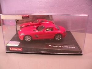 CARRERA EVOLUTION 1/32 MERCEDES SLS AMG COUPE RED