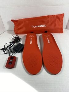 ThermaCELL THS01-XL Remote Heated Insoles.  F2