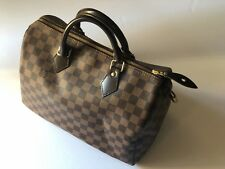 Louis Vuitton Speedy 30, Damier handbag. PRE-OWNED