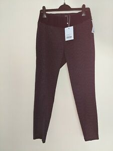 BNWT ISABELLA OLIVER HAYDEN MATERNITY TROUSERS SIZE 2 (uk Size 10)