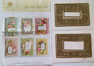 Anna Griffin Cut Away Frame Dies Set 2 Pieces FREE SHIPPING