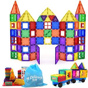 Magna Tiles 3D Set Magnetic Building Toy Smarter 3+kids Clear Colors 100 Pcs NEW