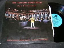 1986 Small Audiophile Label AMHERST The Tonight Show Band DOC SEVERINSEN TV LP