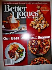 Better Homes & Gardens BEST RECIPES OF THE SEASON BRAND NEW! BAKING COOKING