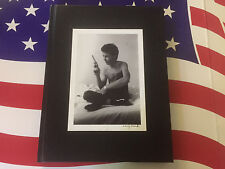 1999 ULTRA RARE Larry Clark Not TULSA Hard Cover Blank Note Book ISBN 9071691462