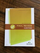 *BRAND NEW* Becker CPA Exam Final Review - AUDITING TEXTBOOK V3.2