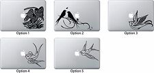 Love Bird Decal Sticker for Apple Mac Book Air/Pro Dell Laptop Tattoo Nautical