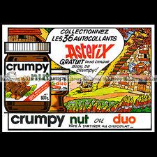 ASTERIX & Pâte à Tartiner CRUMPY NUT (No Nutella) 1979- Pub / Publicité / Ad #B7
