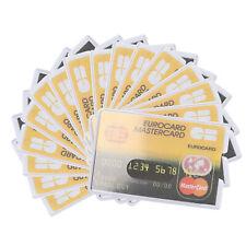 Kartenhülle EC Schutzhülle Kreditkarten Ausweis Schutz Karten Hülle Führerschein