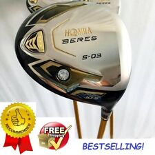 Golf Club HONMA S-03 4 Pro Star Driver Gold Color 10.5 loft Graphite Shaft
