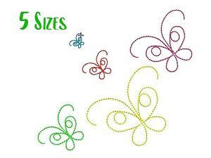 Mini Butterflies Embroidery design Butterfly machine embroidery designs