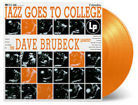 THE DAVE BRUBECK QUARTET - JAZZ GOES TO COLLEGE  ORANGE VINYL LP LTD /1000