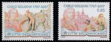 Vaticaan postfris 2007 MNH 1580-1581 - Carlo Goldoni
