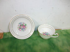 Vintage   ( Clare )   Fine English  Bone China  Tea Cup & Saucer   Lot # RO.