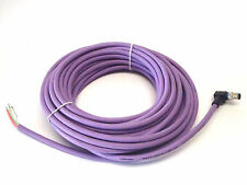Beckhoff ZK1031-6300-1150 Profibus Cable M12 Angled Male 4 Pin to Flying Leads