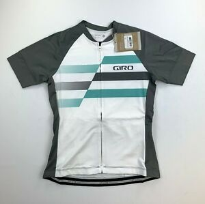 New Giro Women/'s Truant Jersey Cycling Bike Small Gray Short Sleeve Top MTB Road