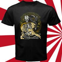 Blue Oyster Cult Skull Logo Rock Band Legend Men's Black T-Shirt Size S-3XL
