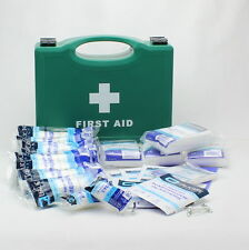 10 Person HSE Compliant Workplace CATERING First Aid Kit in High Quality Box.