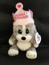 "Sad Sam Aurora World Honey Lil Pup Princess Plush  9"" .NEW"