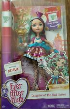 New Mattel Ever After High Madeline Hatter Doll And Accessories 6 Years Up NIB