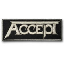 Accept patch Embroidered Heavy Metal Band Applique Emblem Warlock Doro Pesch