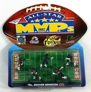 DENVER BRONCOS GALOOB All Star MVP 1997 NFL Play Footlball 5 Poseable Figures
