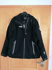 ICEPEAK - Freizeit-Jacke mit Kapuze - schwarz Gr. 48