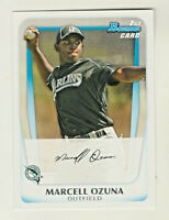 2011 Bowman Prospects 1ST CARD #BP36 MARCELL OZUNA RC Rookie Atlanta Braves