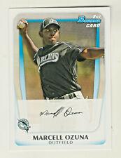 2011 Bowman Prospects 1ST CARD #BP36 MARCELL OZUNA RC Rookie Atlanta Braves