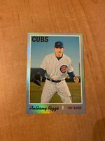 2019 Topps Heritage - Anthony Rizzo - #406 Silver Metal Foil Parallel /70 made