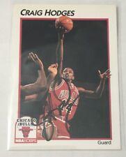 1991-92 NBA Hoops #66 Craig Hodges - Autograph - FREE SHIP Chicago Bulls 🏀