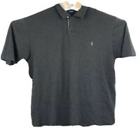 Polo Golf Ralph Lauren Polo Shirt Mens Size Large Pima Cotton Short Sleeve Gray