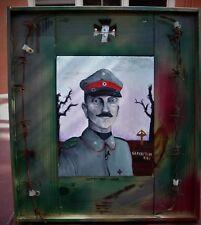"""Original Oil Painting """"GEFREITEN 1918""""-  WW 1 German Soldier"""