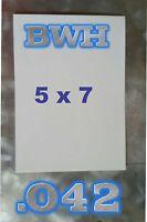 """Aluminum Dye Sublimation PHOTOGRAPHY PANELS, 5 X 7"""", dye sub photo blanks, .042"""