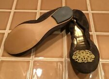 NEW TAHARI Valerie BROWN SUEDE Leather Ballet Flats Shoes Size 8 Womens