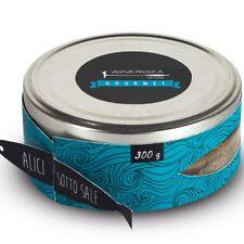 Alici sotto sale 200 Gr. - Acqua Pazza Gourmet - Offerta 3 pezzi