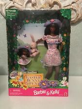 Mattel Barbie And Kelly Doll Easter Bunny Fun Gift Set Target Special 1998 Aa