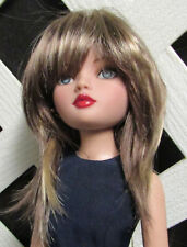 "Doll Wig, Monique Gold ""Jojo"" Size 6/7 Brown w Blonde Highlights"