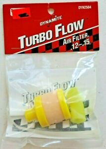 Dynomite RC Turbo Flow Air Filter (Fits .12 - .15) DYN2504