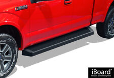iBoard Black Running Boards Style Fit 15-20 Ford F150 Super Cab&17-20 F250